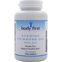 BODY FIRST Evening Primrose Oil (500mg) 250 sgels