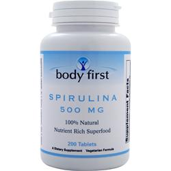 BODY FIRST Spirulina (500mg) 200 tabs