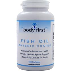 Body First Fish Oil - Enteric Coated 180 sgels