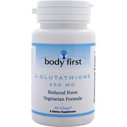 Body First L-Glutathione (250mg) 60 vcaps