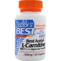 Doctor's Best Acetyl L-Carnitine HCl with Biosint Carnitines 60 vcaps