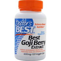 DOCTOR'S BEST Best Goji Berry Extract (600mg) 120 vcaps