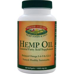 Manitoba Harvest Hemp Oil 60 sgels