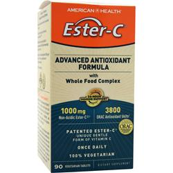 American Health Ester-C Advanced Antioxidant Formula (1000mg)  EXPIRES 1/16 90 tabs