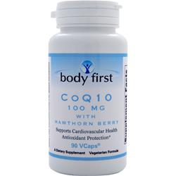 Body First CoQ10 (100mg) with Hawthorn Berry 90 vcaps