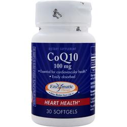 ENZYMATIC THERAPY CoQ10 (100mg) 30 sgels
