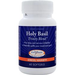 Enzymatic Therapy Holy Basil Trinity Blend 60 sgels
