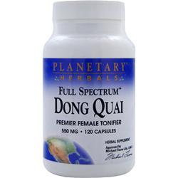 PLANETARY FORMULAS Full Spectrum Dong Quai 120 caps