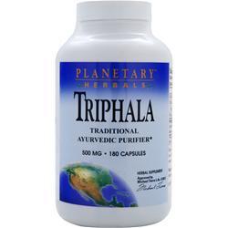 Planetary Formulas Triphala (500mg) 180 caps