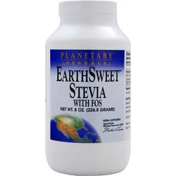 Planetary Formulas EarthSweet Stevia with FOS 8 oz