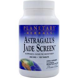 PLANETARY FORMULAS Astragalus Jade Screen 100 tabs