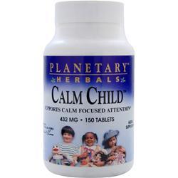 Planetary Formulas Calm Child 150 tabs