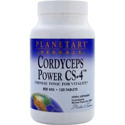 Planetary Formulas Cordyceps Power CS-4 120 tabs
