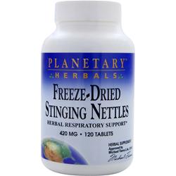 PLANETARY FORMULAS Freeze-Dried Stinging Nettles (420mg) 120 tabs