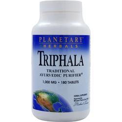 Planetary Formulas Triphala (1000mg) 180 tabs