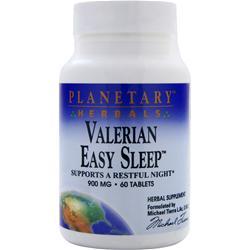 Planetary Formulas Valerian Easy Sleep 60 tabs
