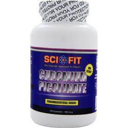 SCI-FIT Chromium Picolinate (200mcg) 200 caps