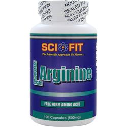 SCI-FIT L-Arginine (500mg) 100 caps