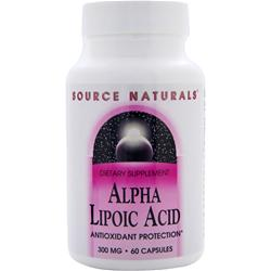 Source Naturals Alpha Lipoic Acid (300mg) 60 caps