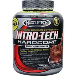 MUSCLETECH Nitro-Tech Hardcore Pro Series Chocolate Milkshake 4.8 lbs