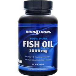 BodyStrong 100% Pure Fish Oil (1000mg) 90 sgels