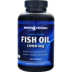 Bodystrong 100 pure fish oil 1000mg on sale at for Where does fish oil come from