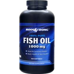 BODYSTRONG 100% Pure Fish Oil (1000mg) 360 sgels