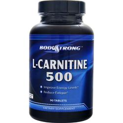BodyStrong L-Carnitine (500mg) 90 tabs