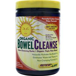 RENEW LIFE Organic Bowel Cleanse Powder 13.3 oz