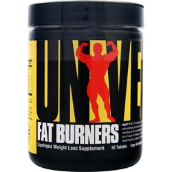 UNIVERSAL NUTRITION Fat Burners Easy-to-Swallow 55 tabs