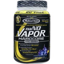 MUSCLETECH naNO Vapor Hardcore Pro Series Powder Blue Raspberry Glacier 2.4 lbs