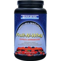 MRM 100% All Natural Fruit-N-Whey Mixed Berries 2.03 lbs
