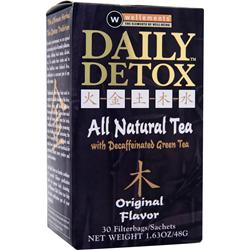 Wellements Daily Detox Tea Original 30 pck