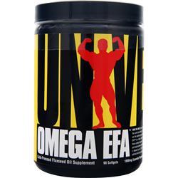 Universal Nutrition Omega EFA 90 sgels