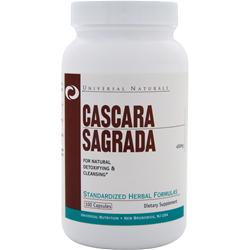 UNIVERSAL NUTRITION Cascara Sagrada (450mg) 100 caps