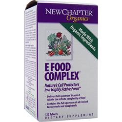 NEW CHAPTER E Food Complex 120 tabs
