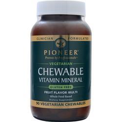 Pioneer Chewable Vitamin Mineral 90 chews