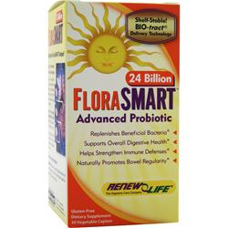 RENEW LIFE FloraSMART - 24 Billion 30 vcaps