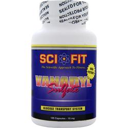 SCI-FIT Vanadyl Sulfate (15mg) 120 caps