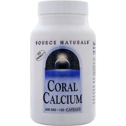 SOURCE NATURALS Coral Calcium (600mg) 120 caps