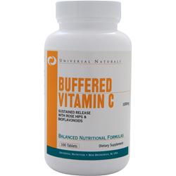Universal Nutrition Buffered Vitamin C (1000mg) 100 tabs