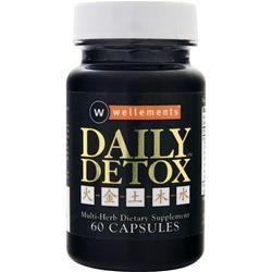 Wellements Daily Detox 60 caps