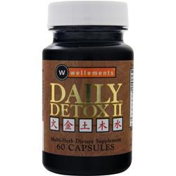 Wellements Daily Detox II 60 caps