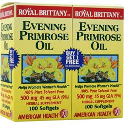 AMERICAN HEALTH Evening Primrose Oil (500mg) Twin Pack 100+100 200 sgels