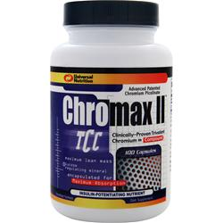 UNIVERSAL NUTRITION Chromax II 100 caps