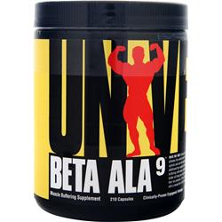 UNIVERSAL NUTRITION Beta ALA9 210 caps