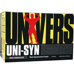 UNIVERSAL NUTRITION Uni-Syn Meal Replacement Powder Rich Chocolate 20 pckts