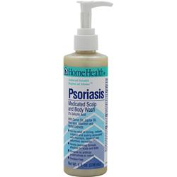 HOME HEALTH Psoriasis Medicated Scalp and Body Wash 8 fl.oz