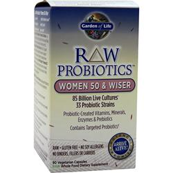GARDEN OF LIFE Raw Probiotics - Women 50 & Wiser 90 vcaps