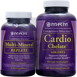 MRM Cardio Chelate with Multi-Mineral 180 + 90 Value Pack 270 vcaps